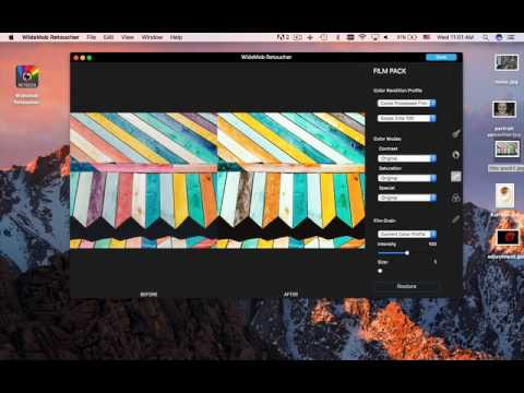 WidsMob Retoucher Video Tutorial - How to Use WidsMob Retouching to Retouching Your Photos