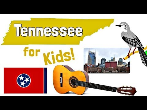 Tennessee For Kids | US States Learning Video