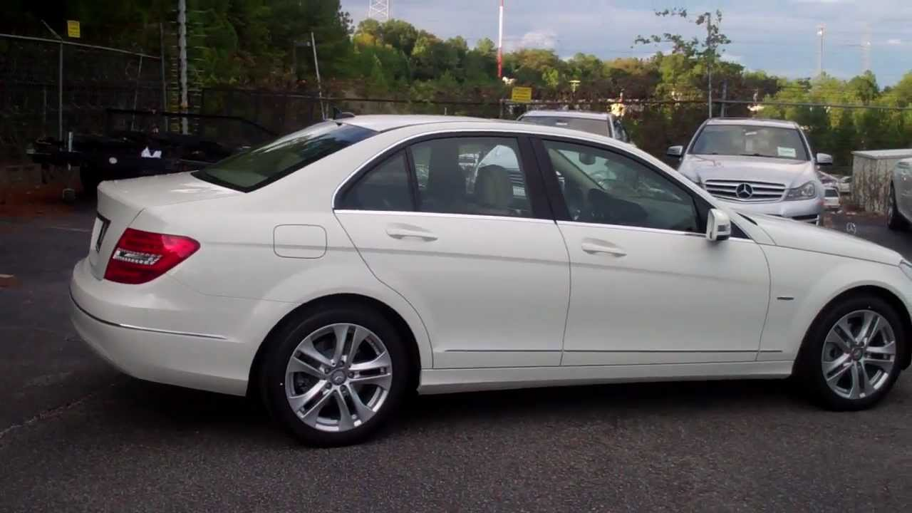 2012 mercedes benz c250 walkaround from bob cullum with