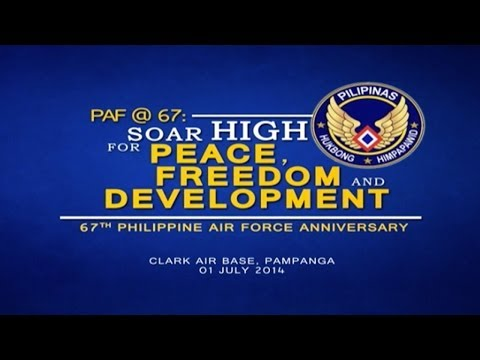 67th Anniversary Celebration of the Philippine Air Force