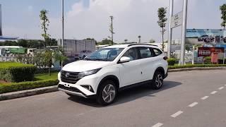 Giới thiệu Toyota Rush 2018 mầu Trắng tại Toyota Long Biên