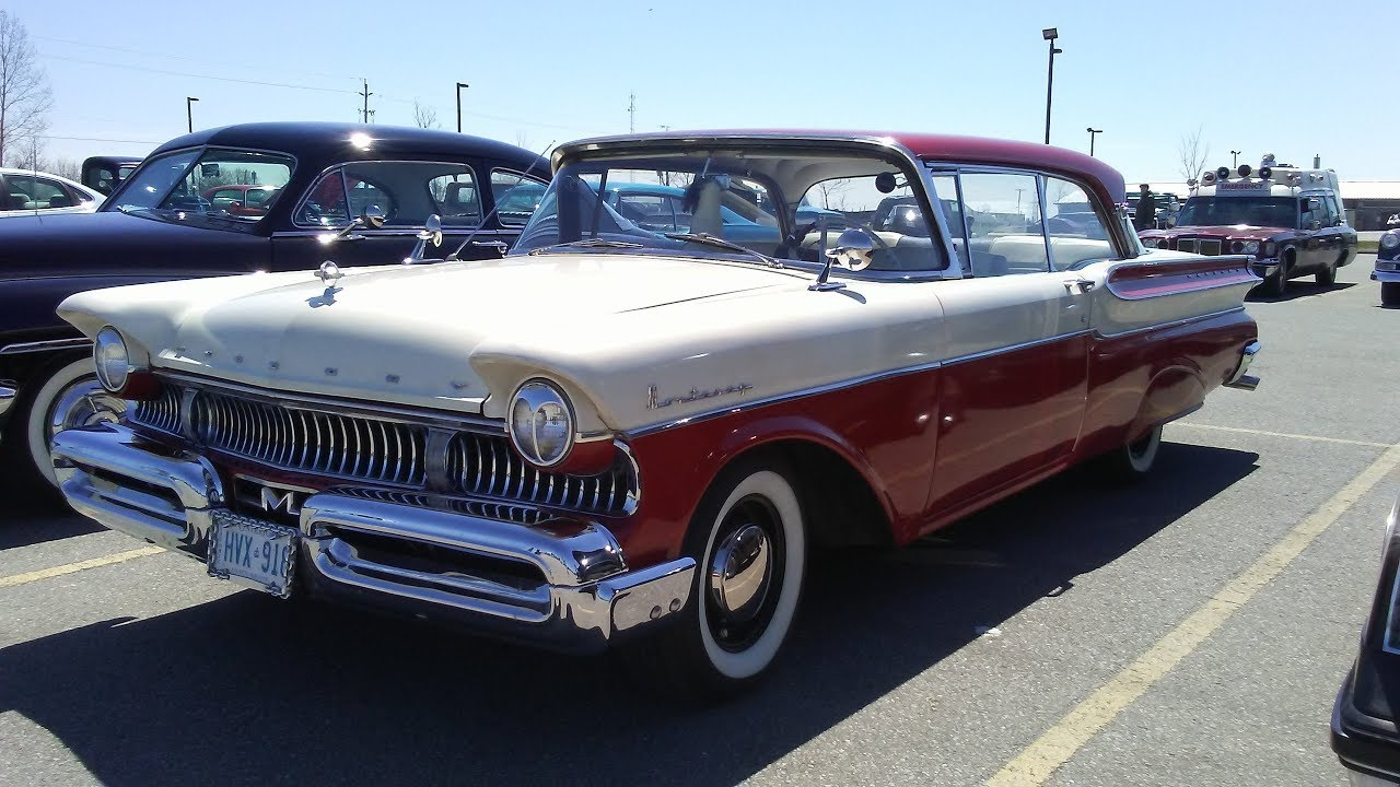 1957 Mercury Monterey 383 In Fiesta Red With A 6 3 Litre