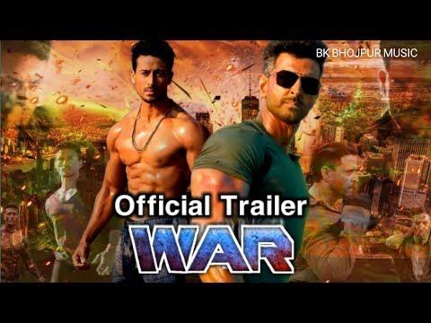 WAR Official Trailer Release | Hrithik Roshan, Tiger Shroff, Vaani Kapoor | WAR Full Movie 2019 NEW