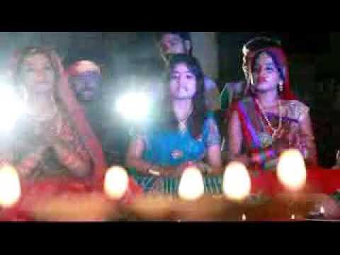 Char hi kona ke pokharwa... Chhat song live shooting....