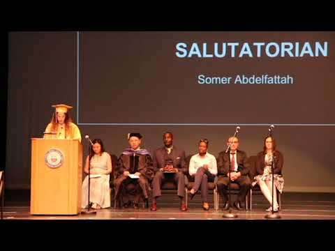 Central Jersey College Prep Charter School, Graduation 2018, Salutatorian Speech