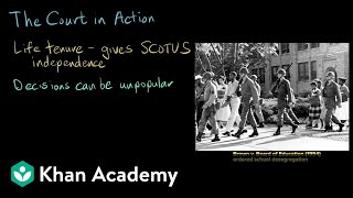 The Court in Action | AP US Government and Politics | Khan Academy