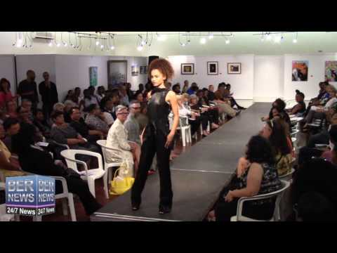 Juliette Dyke At Bermuda Fashion Collective, November 3 2016