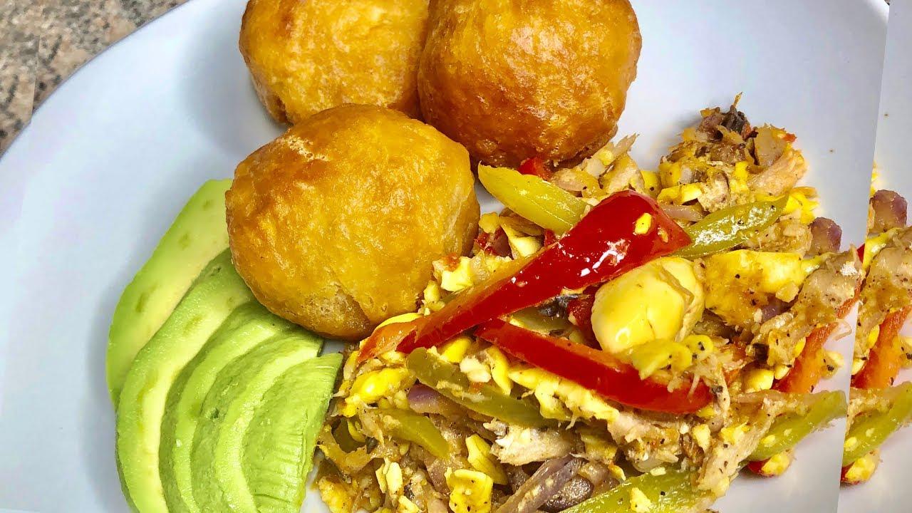 how to make jamaican ackee and salt mackerel/saltfish