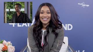 The Flash Star Candice Patton Plays