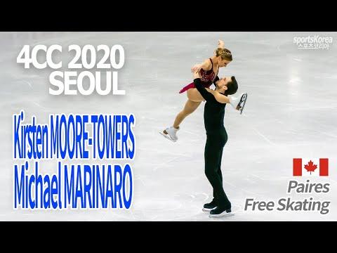 Kirsten MOORE-TOWERS, Michael MARINARO - PAIR FS, 4CC 2020 Seoul