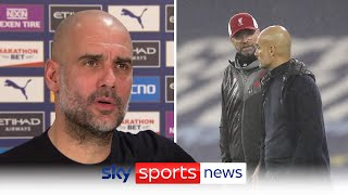 """Sometimes it's good to lose"" - Pep Guardiola's sympathy for Jurgen Klopp"