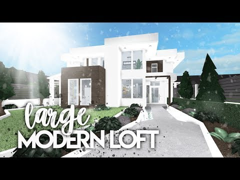 Roblox | Bloxburg: Large Modern Loft | House Build