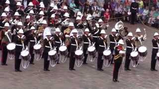 The Royal Marines School of Music - Beating Retreat - 8th August 2014
