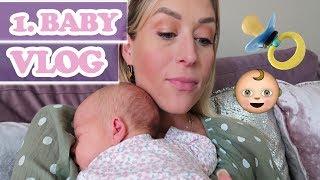 1. Vlog mit Baby zu Hause