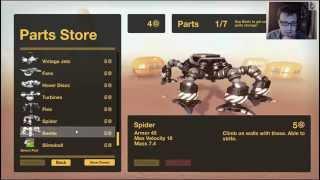 Gear Up - ракетницы, ноги - мечта Robocraft