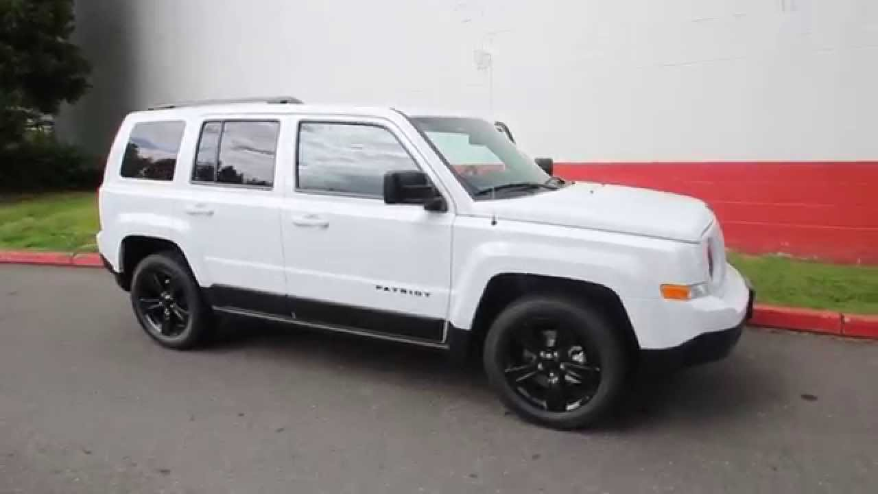 jeep liberty 2014 white. 2014 jeep patriot sport altitude edition white ed848418 seattle bellevue youtube liberty