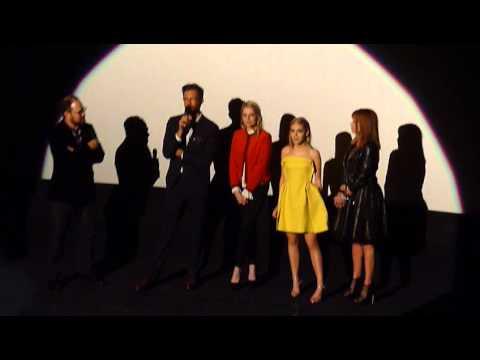 FEBRUARY USA; 2015 Q&A with Oz Perkins, Emma Roberts, Kiernan Shipka, Lauren Holly; TIFF 2015
