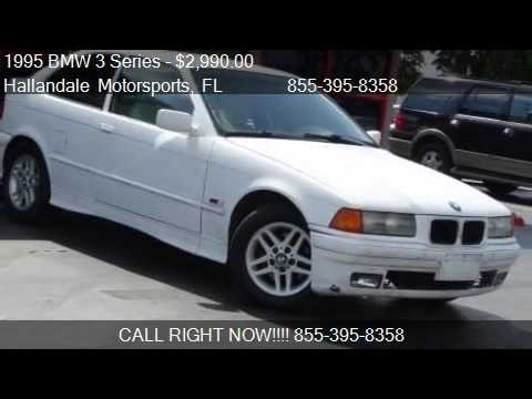 1995 BMW 3 Series 318ti 2dr Hatchback for sale in Hallandale  YouTube