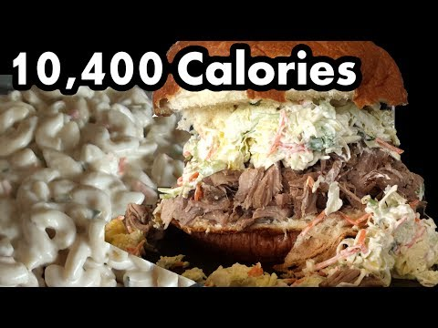 Giant Kalua Pork Sandwich (10,000+ Cals)