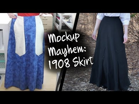 Mockup Mayhem - 1908 Skirt