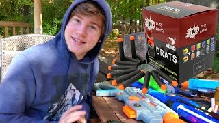 THE BEST NERF DARTS IN THE WORLD!!!