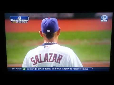 Miguel Cabrera vs Danny Salazar 8/7/13