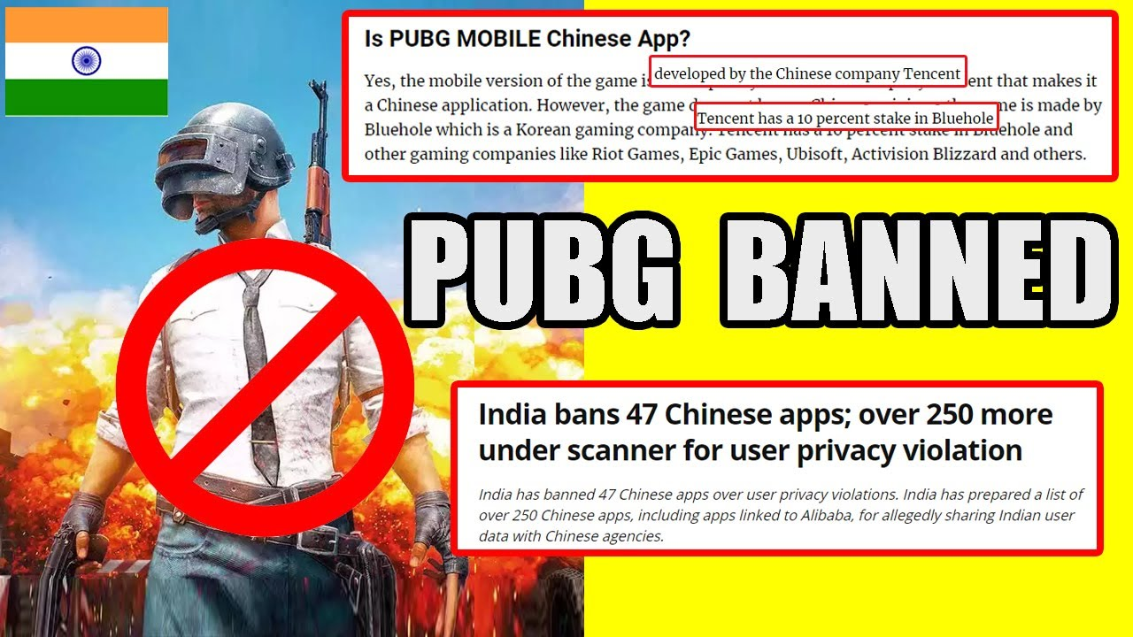 Why PUBG Ban In India ? 47 Chinese Apps Banned By India ! PUBG Ban In India ?