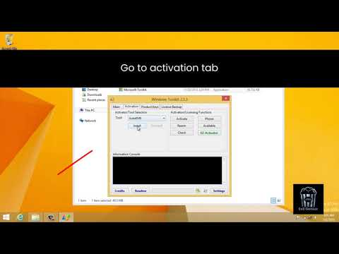 Tweak: How To Activate Windows 8/8.1/10 In Less Than 2 Minutes | Permanent Activation