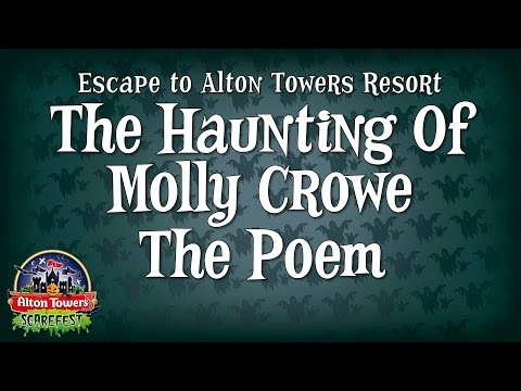 Alton Towers Scarefest - The Haunting of Molly Crowe The Poem