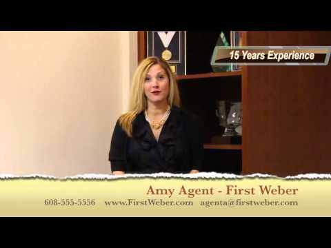 Amy Agent - First Weber Realtor - Personal Video
