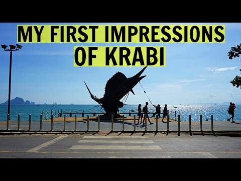 MY FIRST IMPRESSIONS OF KRABI, THAILAND + ROOM TOUR