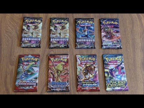 8 Pokemon Booster Pack Opening