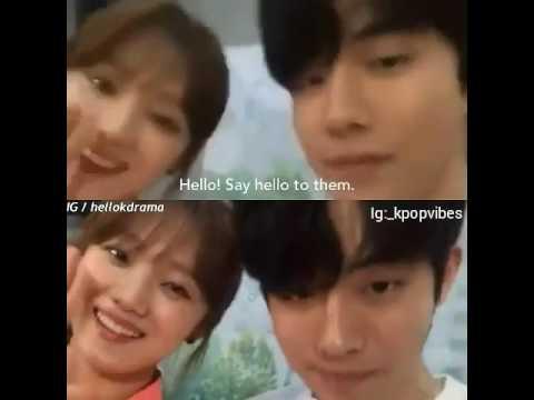 nam joo hyuk and lee dating