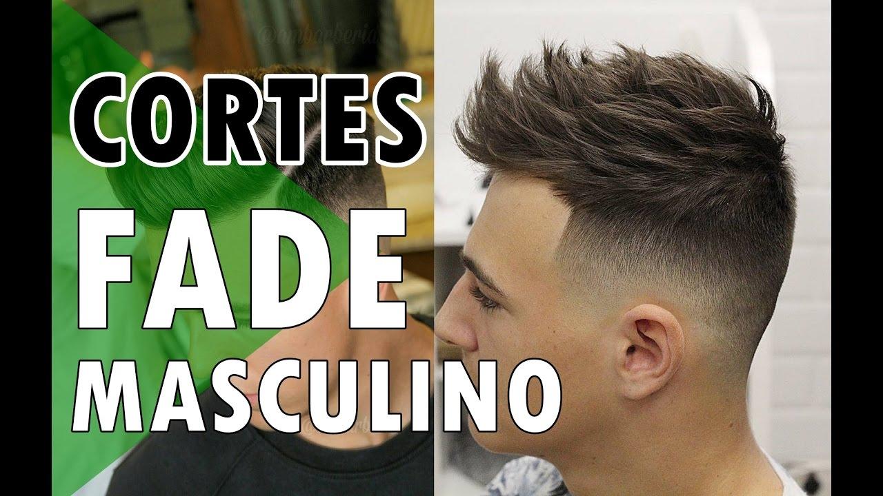 20 Cortes Fade Masculino Cortes De Cabelo Masculino Haircut