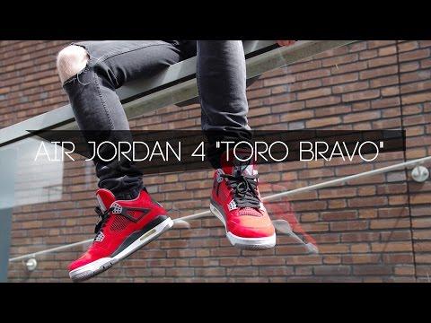 Air Jordan 4 TORO BRAVO Plus FIT   On Feet/Preview (Dutch)NL