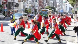 2015-09-20 深川カーニバルよさこい祭り 永代通り流し 東京メトロシーブ...