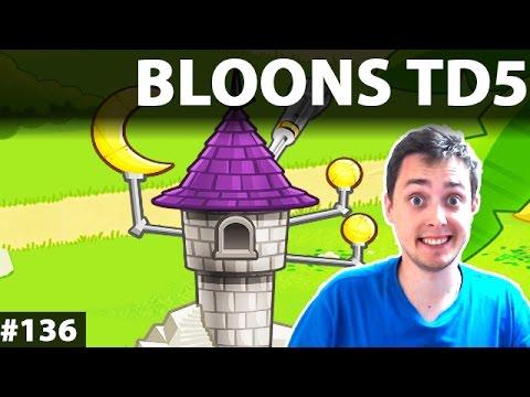 Darmowe Gry Online   Bloons TD5 – KIEDY WYJDĄ BALONIKI 6