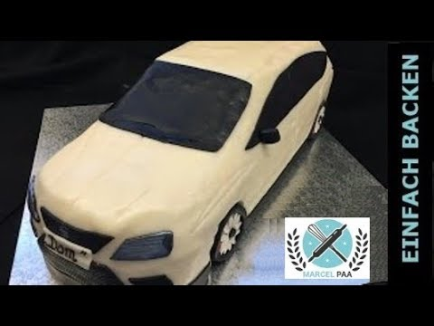 Seat 3d Car Cake Tutorial Anleitung Mit Rezept Youtube