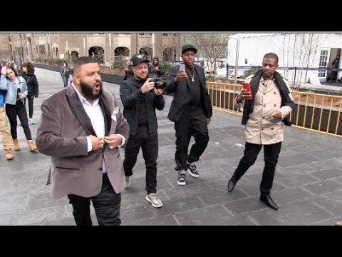 (Exclusive) JayZ Beyonce Mariah Carey Diddy Cassie and Dj Khalid Roc Nation Grammys Brunch 01-27-18