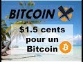 BitcoinX (BCX) $1.5 cents pour un Bitcoin