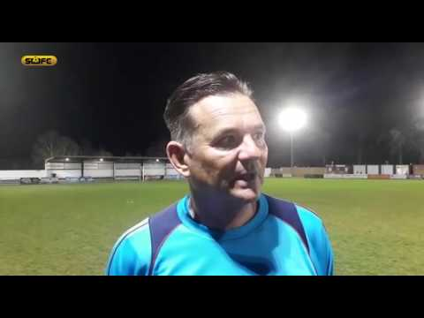 SUFCtv: INTERVIEW Paul Doswell Maidenhead United 2 Sutton United 1 VNL 17/4/18