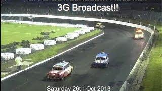 Live Stock Car Auto Racing Cowdenbeath Racewall Scotland 3G Webcast