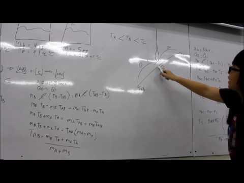 Mencari Keseimbangan Thermal Pada Pencampuran 3 Zat Cair yang Homogen dengan Bantuan Metris