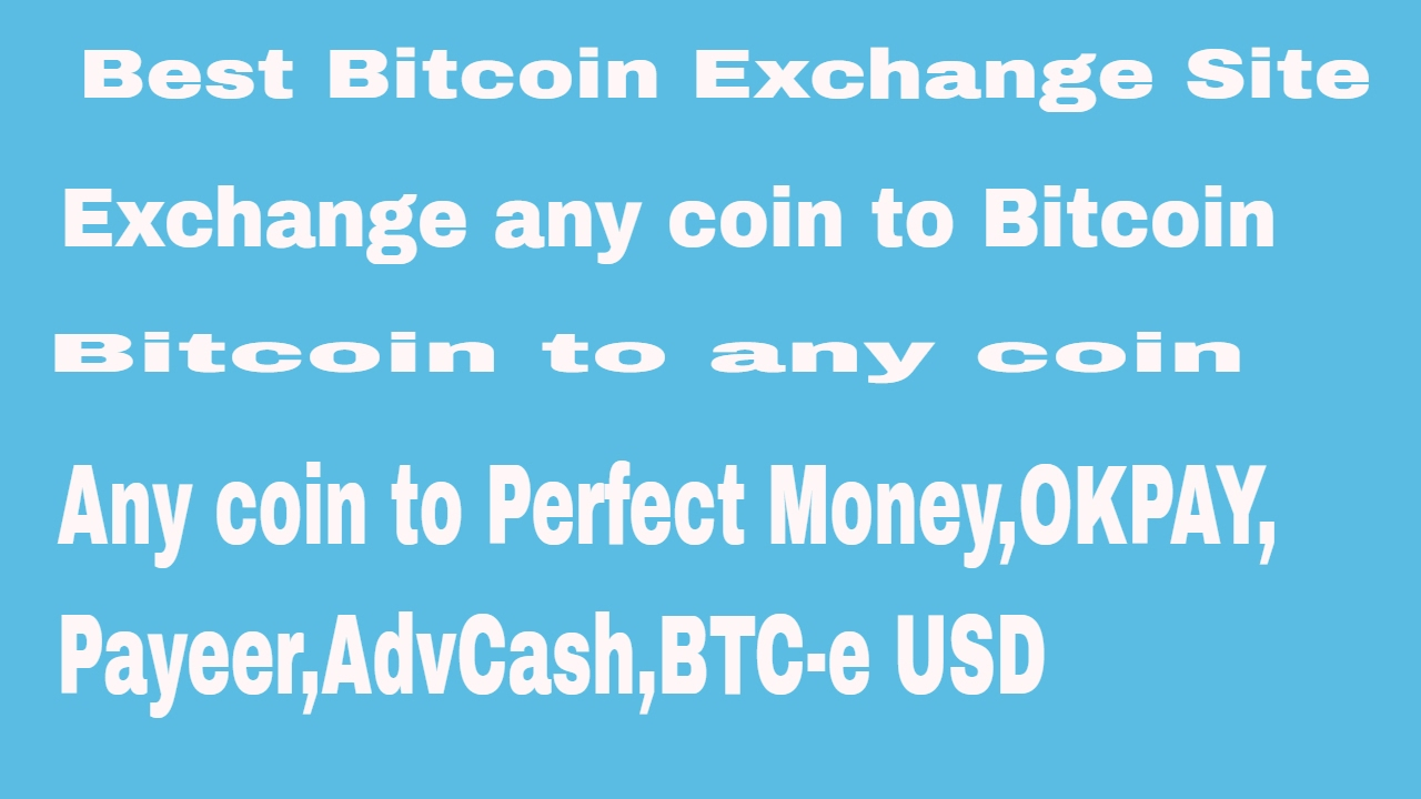 How To Currency Exchange Online Best Perfect Money Bitcoin