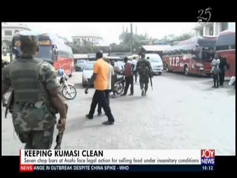 Keeping Kumasi Clean- News Desk on JoyNews (14-2-20)