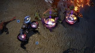 Path of Exile: Celestial Herald Skill Effect
