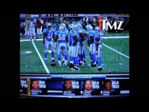 CHRIS MYERS NFL ANNOUNCER SLAMS WHOOPI GOLBERG LIONS GAME SEPTEMBER 13 2009