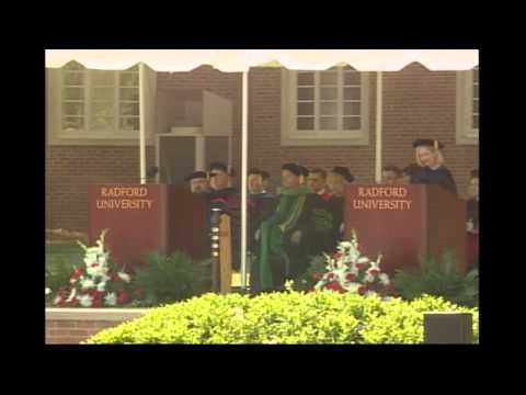 Radford University Spring Commencement 2015