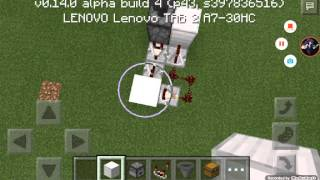 Minecraft PE 0.14.0 红石教学:红石垃圾桶!
