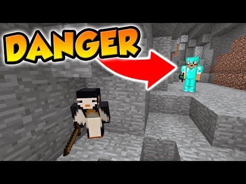 Minecraft   FRIEND OR FOE?   OP PLAYER TRIES TO KILL ME! (4)